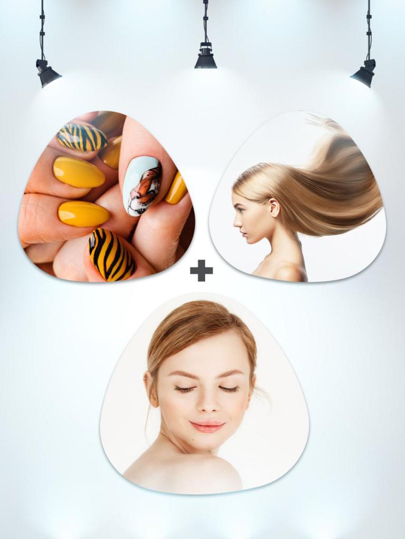 Saç Keratin Bakımı + Kalıcı Oje + Hydrofacial